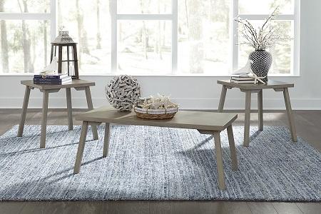 Ginnia Accent Tables (3 piece set) - Furniture Plus