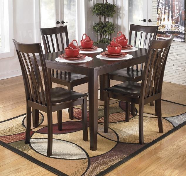 Hyland Collection 5pc Dining Set Furniture Plus : D258 225 DINNERWARE from furnitureplushome.com size 634 x 600 jpeg 157kB