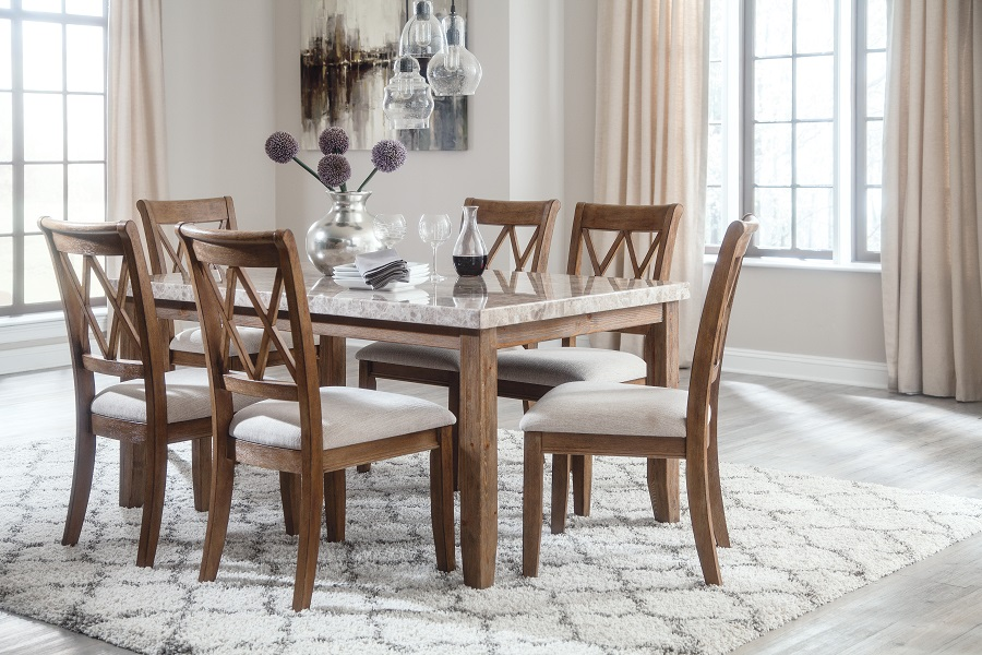 Narvilla Collection 6pc amp 7pc Dining Set Furniture Plus : D559 25 016 R40176 from furnitureplushome.com size 900 x 600 jpeg 195kB