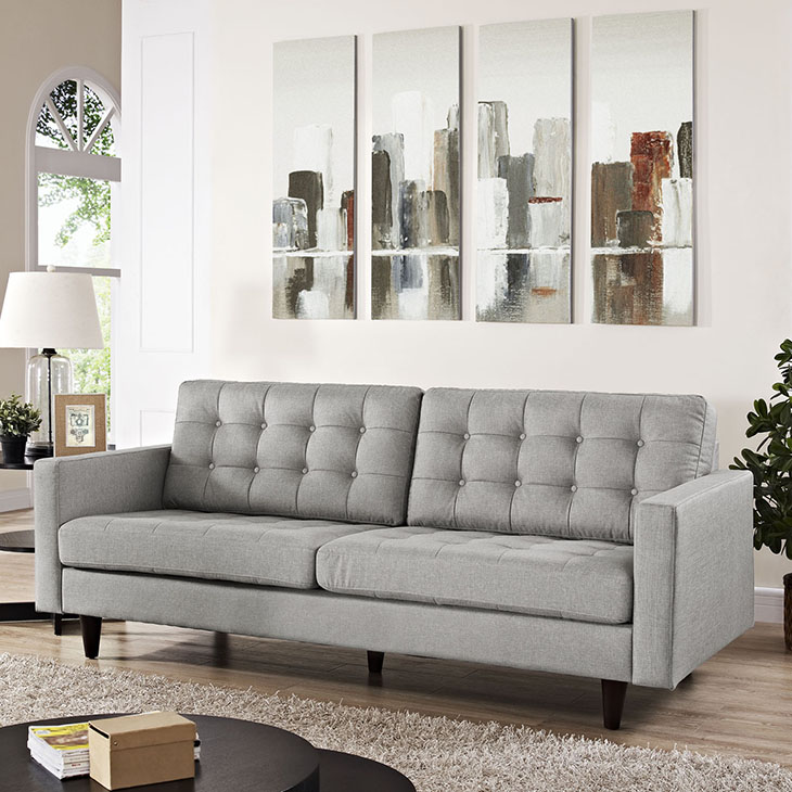 Empress Collection In Light Gray Furniture Plus